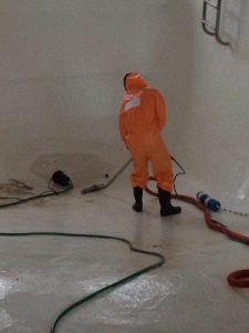 Sewage Backup Cleanup