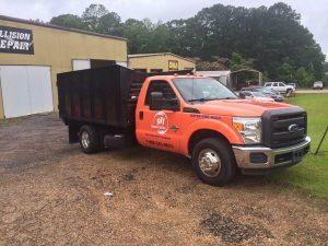911 Restoration Disaster Cleanup Truck