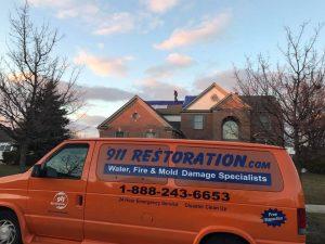 911 Restoration Fire Response Van